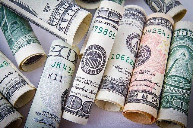 usd bankovky