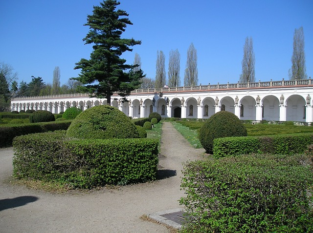zahrada v Kroměříži