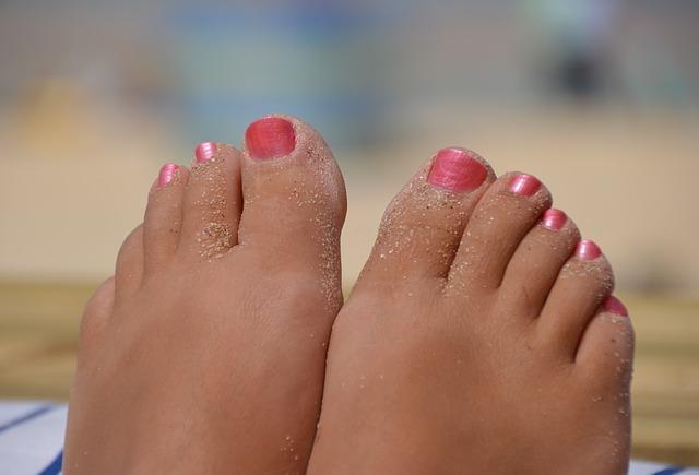 prsty od písku